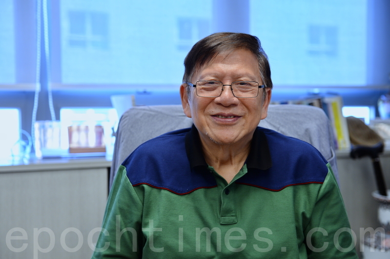 香港著名時事評論員、影視編劇和主持人、香港人氣最高的自媒體人蕭若元資料照。(宋碧龍/大紀元)