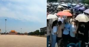 【現場片段】北京現兩極:人山人海或人煙稀少