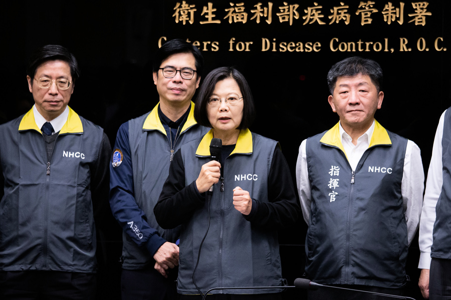 中共肺炎民調 67%台人不信中共防疫能力