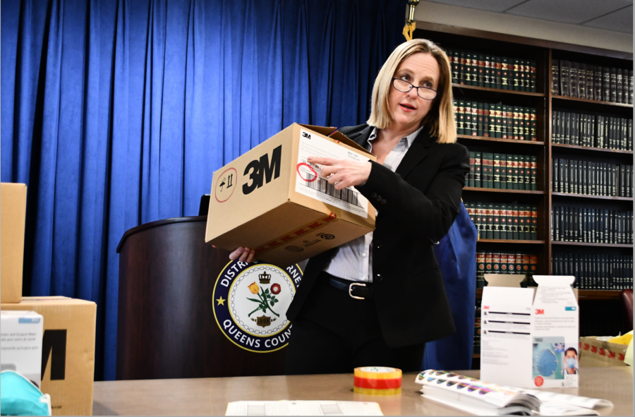 紐約查獲170萬假冒N95口罩 涉案疑犯被捕
