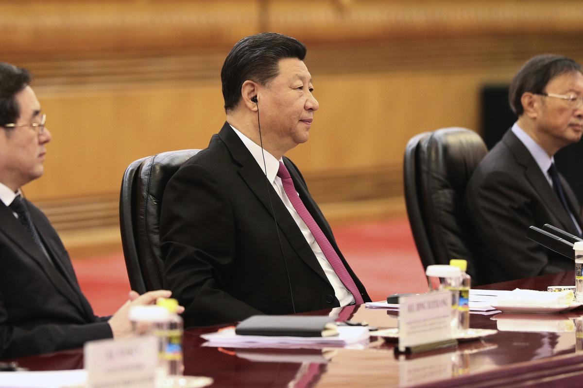 中國國家主席習近平。 (Kenzaburo FUKUHARA / POOL / AFP)
