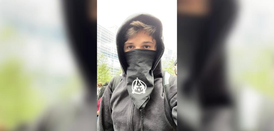 涉嫌煽動騷亂 美20歲無政府主義者自首