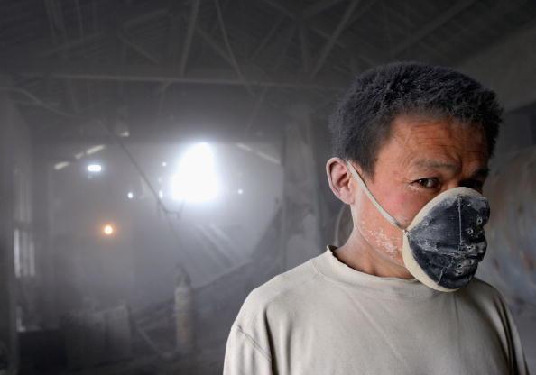 疫情所致大陸農民工的失業嚴重程度遠遠超過2003年的SARS和2008年的金融危機。(AFP/Getty images)