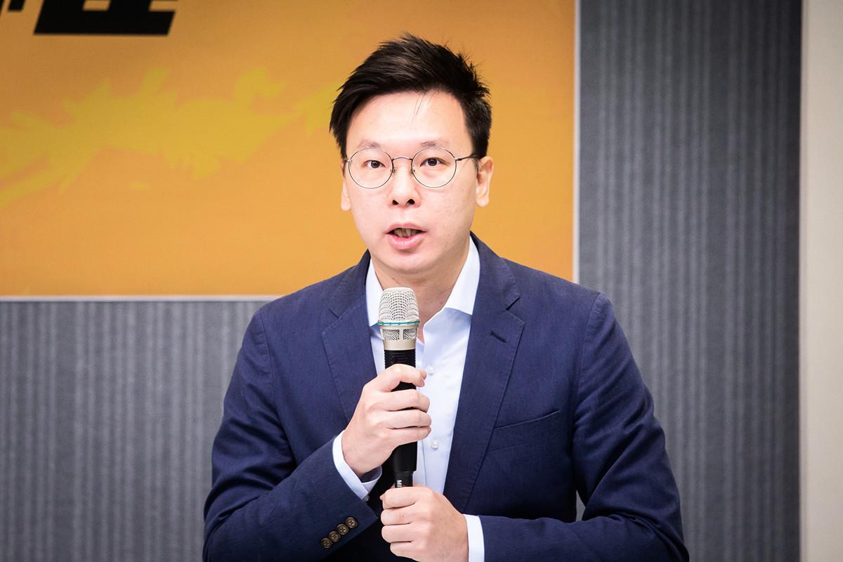 民進黨副秘書長林飛帆,資料照。(陳柏州/大紀元)