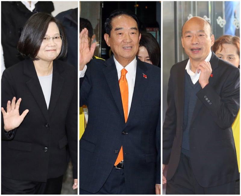 台總統辯論火花四射 韓國瑜批媒體成焦點