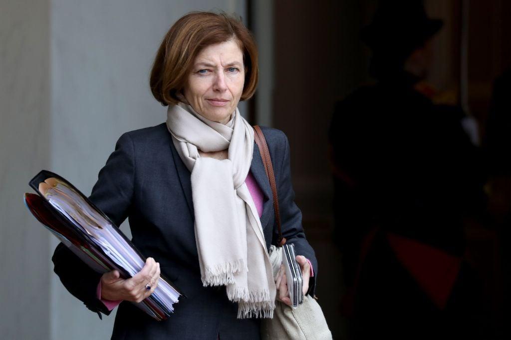 圖為法國國防部長弗洛倫斯·帕爾麗(Florence Parly)。(LUDOVIC MARIN/AFP via Getty Images)