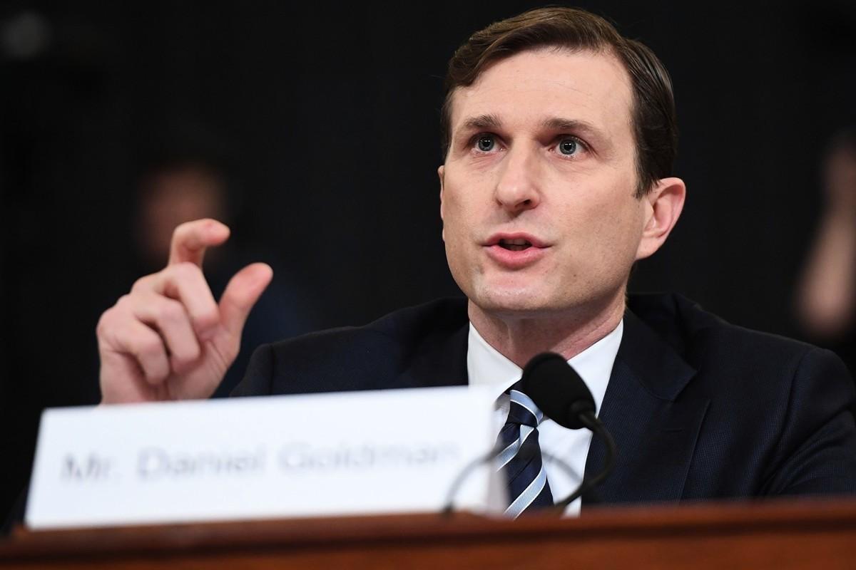 圖為攝於2019年12月9日的美國前聯邦檢察官丹尼爾・戈德曼(Daniel Goldman)。(SAUL LOEB/AFP)
