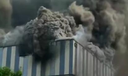 【影片】華為東莞實驗室著火 至少3死