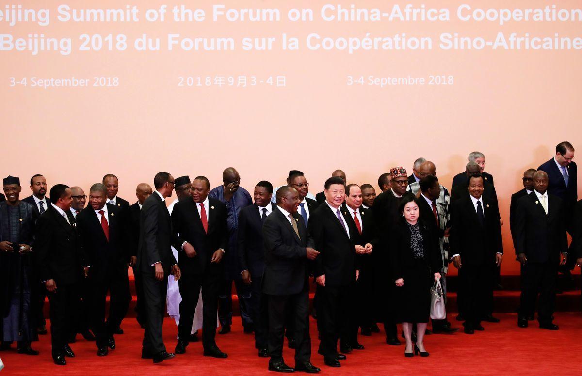 9月3日,中非合作論壇在北京開幕。(HOW HWEE YOUNG/AFP/Getty Images)