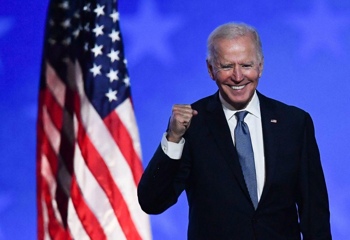 圖為美國總統祖·拜登(Joe Biden)的資料照片。(ANGELA WEISS/AFP via Getty Images)