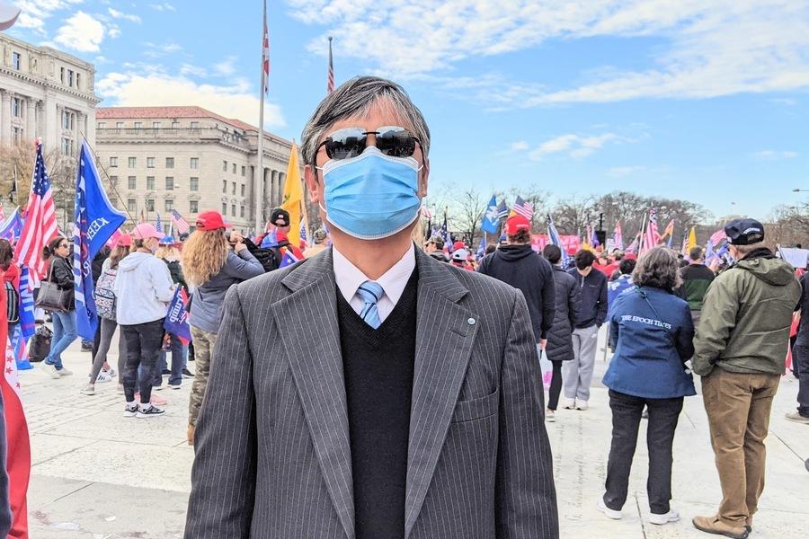 陳光誠:憲政遭挑戰 美國人須為自己發聲