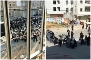 茂名村民抗議建火葬場 上千警催淚彈鎮壓