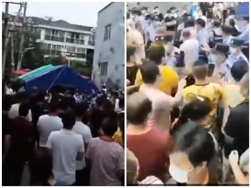 【現場片段】政府藉肺炎疫情斂財 北京大興爆衝突