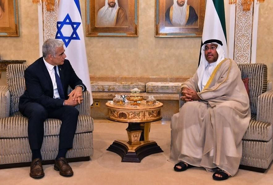 以色列外長正式訪問阿聯酋 史上首見