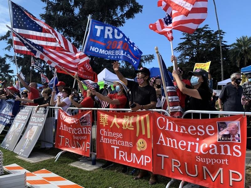 大選最後衝刺 加州集會盛況空前 特朗普感謝