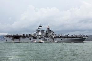 中美角力 傳美馬金島號兩棲戒備群入南海