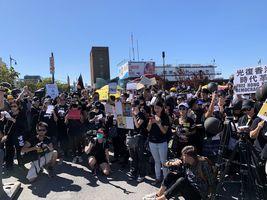 【9.29反極權】撐香港 NY4HK紐約集會