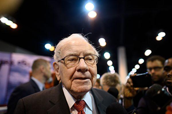 著名投資家巴菲特5月2日在股東年會表示:「航空業的世界已徹底改變了。」資料照。(JOHANNES EISELE/AFP via Getty Images)