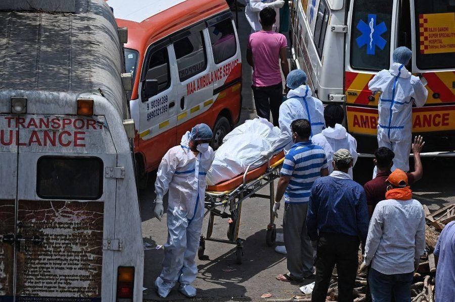 研究:印度疫情5月中達高峰 單日恐增44萬