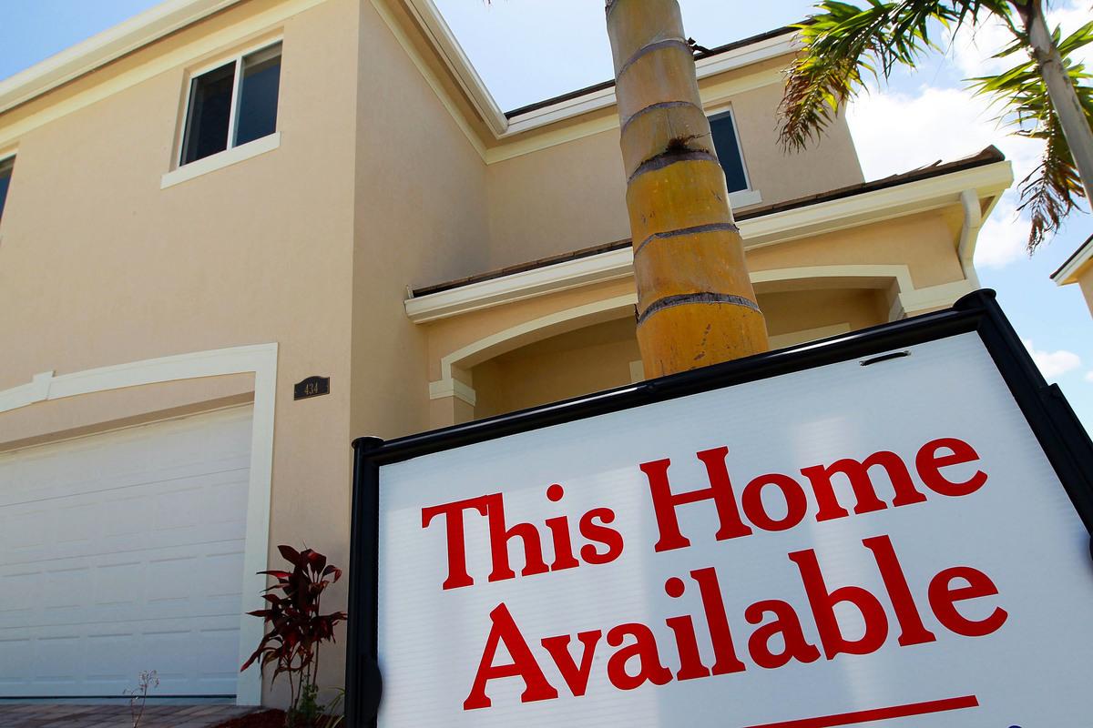 美國佛羅里達州邁阿密的一棟待售房屋。(Joe Raedle/Getty Images)