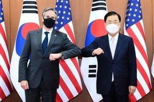 美高層訪韓重申對中共強硬 為美中會談定調
