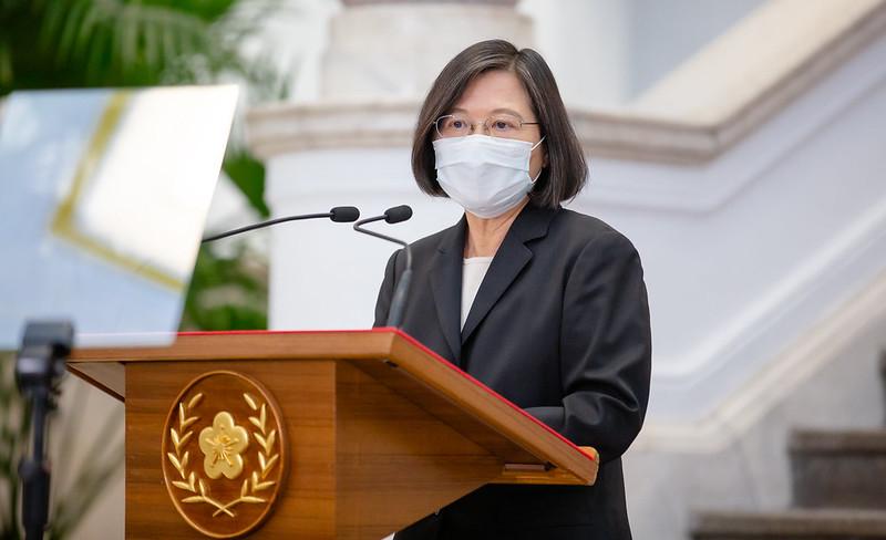 雙北防疫升級 蔡英文下兩指示團結守住台灣