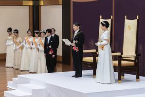 日本新王德仁舉行登基大典 180國外賓出席