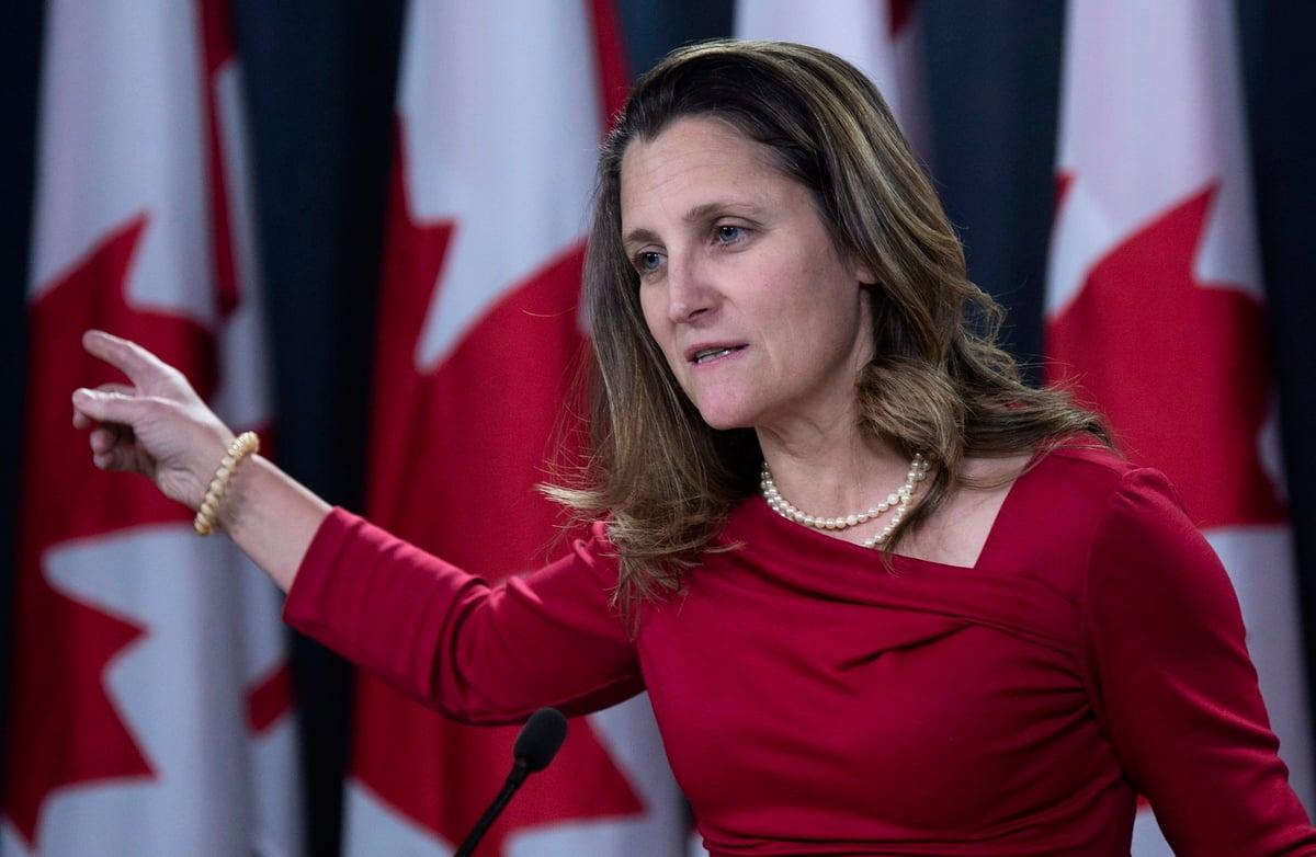 外交部長方惠蘭強調了加拿大逮捕孟晚舟是司法行為,沒有政治因素。(加通社)