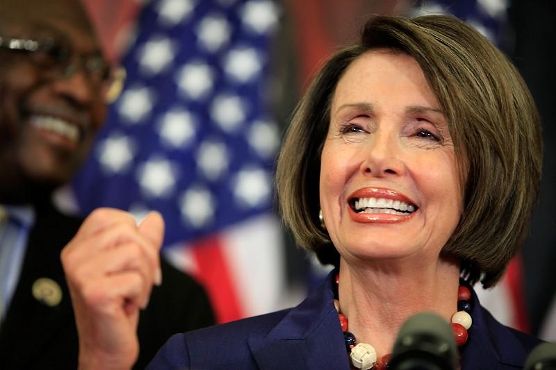 美國國會眾議院議長南希‧佩洛西(Nancy Pelosi)。(Chip Somodevilla/Getty Images)
