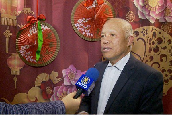 劉因全接受大紀元新唐人媒體集團採訪。(大紀元資料照)