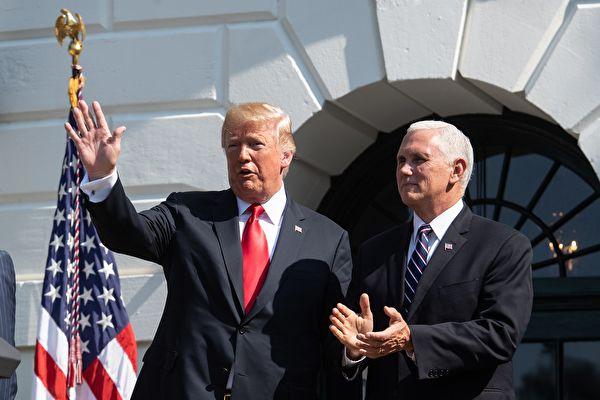 美國特朗普政府承諾協助實現信仰自由。(NICHOLAS KAMM/AFP/Getty Images)
