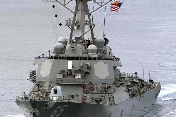 美軍艦穿越台灣海峽 挑戰者650也現蹤