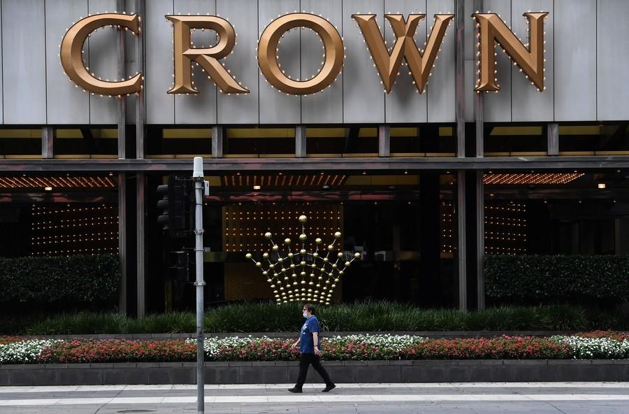 澳洲Crown集團被曝助賭客從中國轉移巨資出境