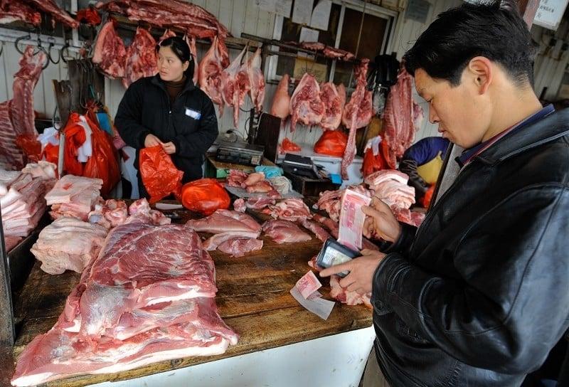 豬肉價格續飛漲 大陸5月進口肉類創紀錄
