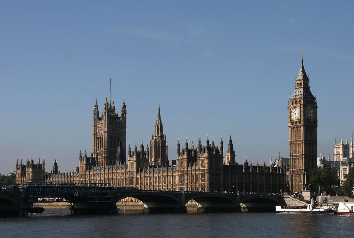 英國議會大廈。(Bruce Bennett/Getty Images)