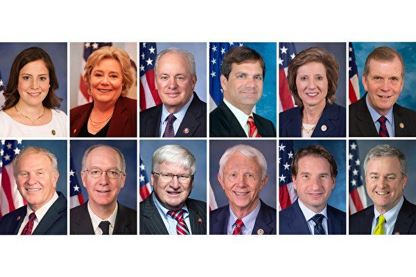 在法輪功「7.20」反迫害22周年之際,截至7月15日,華盛頓DC法輪大法學會收到12位國會議員發來的支持法輪功「7.20」反迫害活動的聲援信。(大紀元合成)