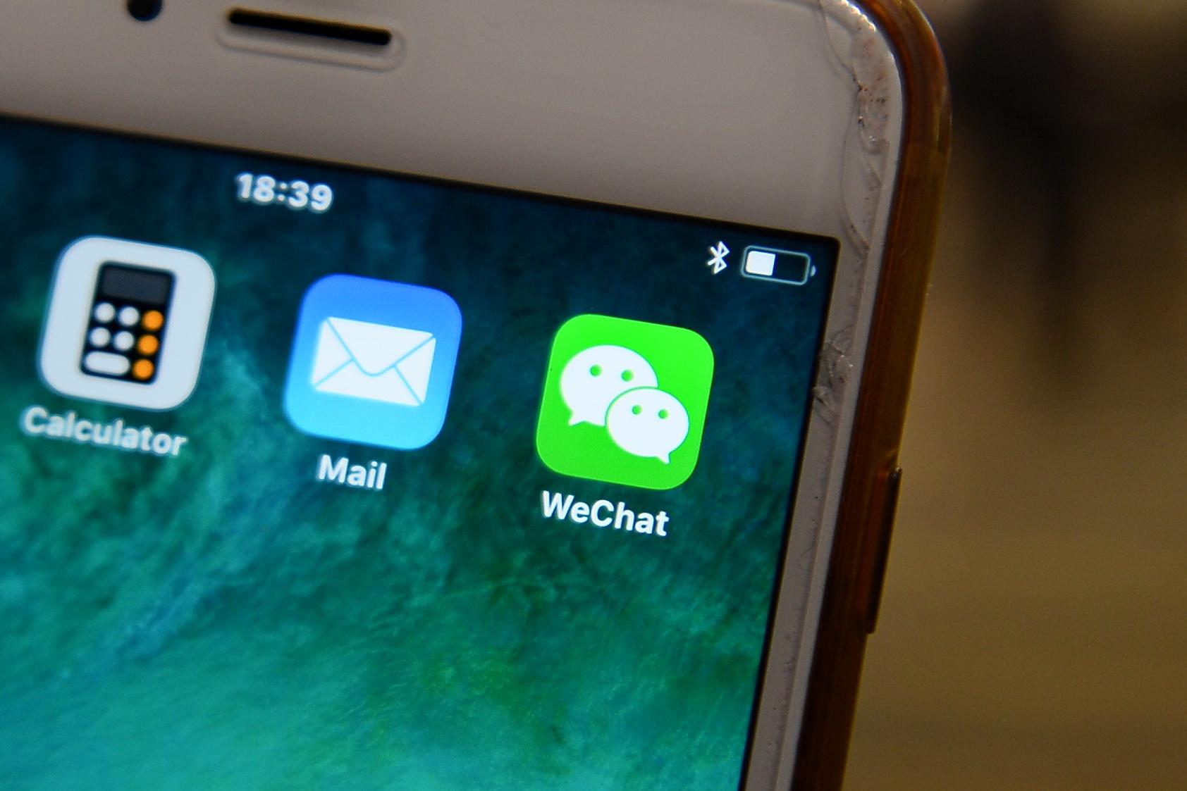 如果兩個用戶在中國境外用微信交流,仍然在很大程度上受控於中國境內的運作規則。(宋碧龍/大紀元)