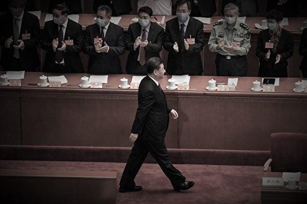 中共總書記習近平資料照。(Leo RAMIREZ/AFP)