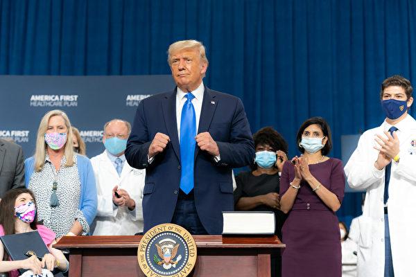 美國總統特朗普。(Getty Images)
