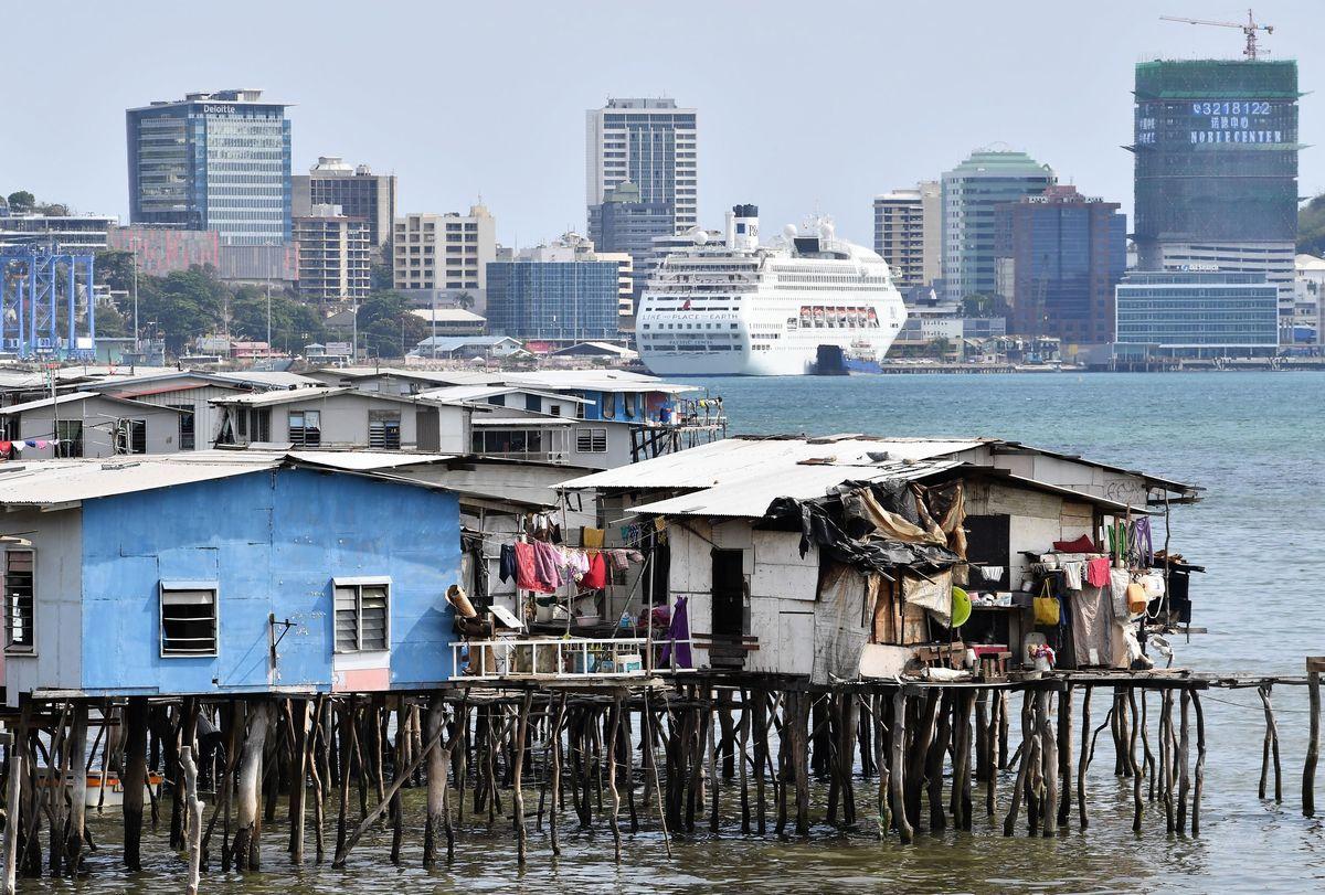 圖為巴布亞新畿內亞的首都莫爾茲比港 (SAEED KHAN/AFP via Getty Images)