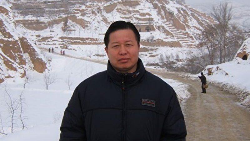 中國著名人權律師高智晟。 (推特圖片)