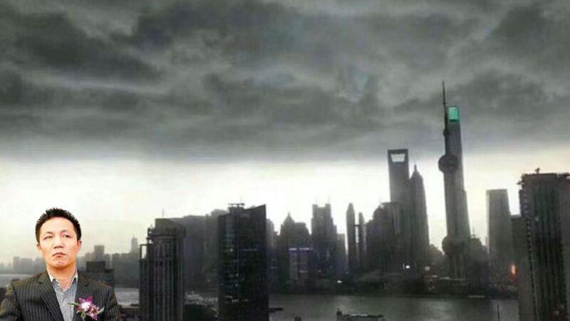 去年才出獄的上海前首富周正毅,4月18日在上海外灘大辦壽宴,驚動官方。(合成圖片)