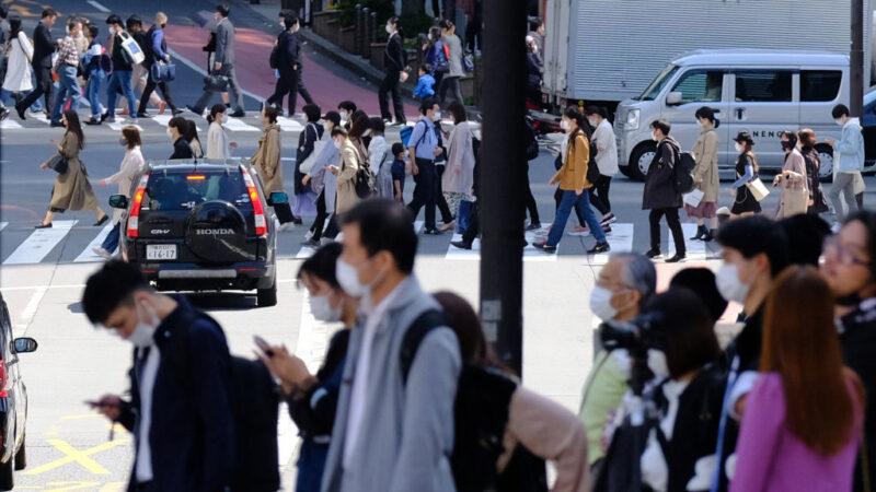 日本的中共病毒疾病(COVID-19)疫情嚴峻,17日全境新增4,803例確診病例,創自3月21日全境解除「緊急事態宣言」以來新高,讓日本政府開始思考第3度發佈緊急事態。(KAZUHIRO NOGI/AFP via Getty Images)