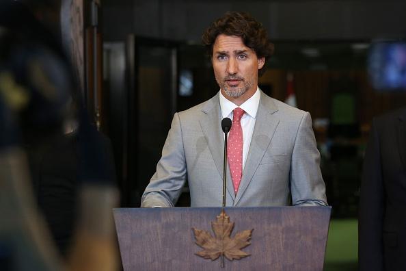 加拿大總理杜魯多。(DAVE CHAN/AFP via Getty Images)