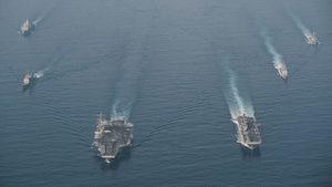 美軍事記者曝中美航母「強碰」:戰時絕對開打