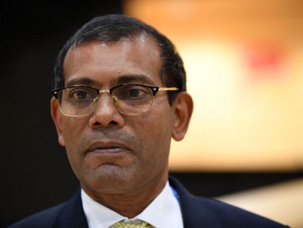 圖為曾擔任馬爾代夫總統的國會議長納希德。(JANEK SKARZYNSKI/AFP via Getty Images)