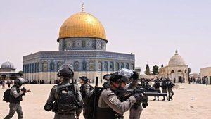 以巴停火根源未解 耶路撒冷清真寺再爆警民衝突