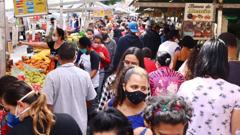 巴西新增6.7萬人染疫 累計確診1558萬宗