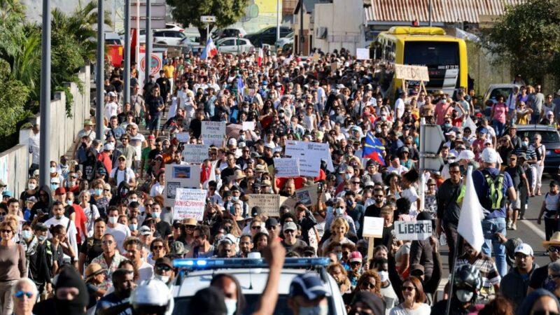 反對健康通行證 法國民眾連3周上街頭表達不滿