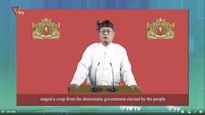 緬甸「平行政府」向軍政府宣戰 首日爆7場衝突